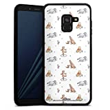 DeinDesign Coque en Silicone Compatible avec Samsung Galaxy A8 (2018) Étui Silicone Coque Souple...