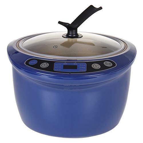 WGGTX Máquina de Yogur Todo en 1 Negro ajo fermentador de 6 l Gran Capacidad de Bricolaje Home Smart Auto fermentación del Vino Máquina de Natto Fabricante de Yogur Utensilios de Cocina Casa, Cocina