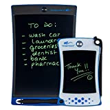 Boogie Board Jot Starter Kit with Jot Reusable Writing Tablet (8.5 in) and Jot Pocket Reusable Notepad (4.5 in), Blue