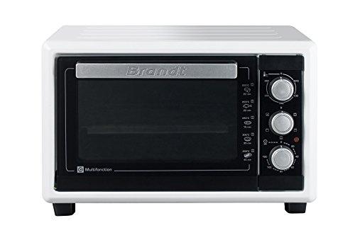 Brandt FC160MW - Mini horno multifunción (16 l, 1200 W), color blanco