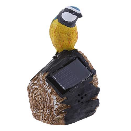 Solarleuchte Igle/Vogel der wunderschöne Hingucker für Innen und Außen Deko - Vogel