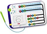 Fisher-Price-FNK69 Tablero Matemático Juguete Educativo Niño, multicolor (Mattel FNK69)