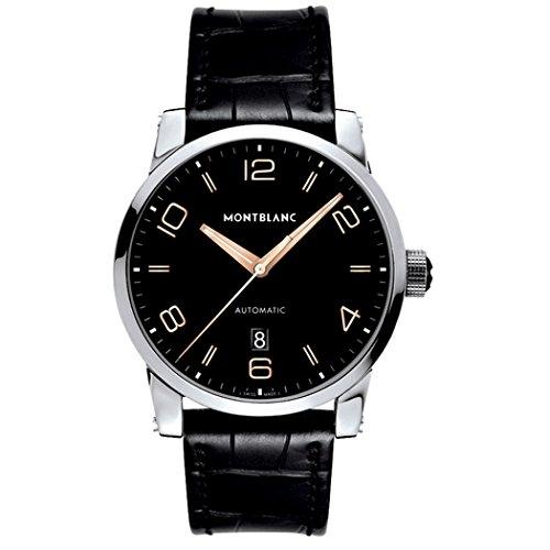 Montblanc Timewalker Herren-Armbanduhr 42mm Schwarz Automatik 110337