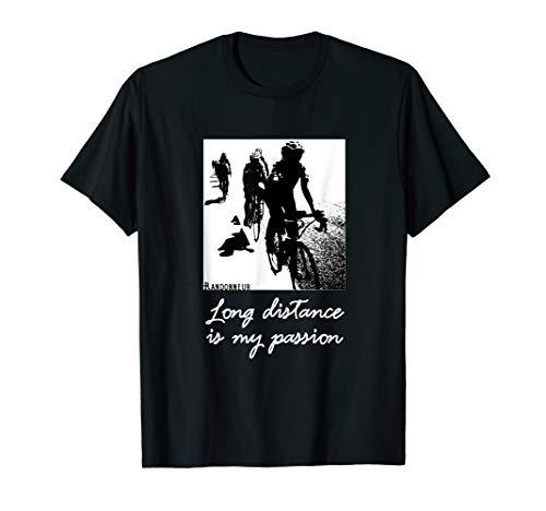 Rennrad Fahrrad Marathon Randonneur Radrennen Radsport Shirt