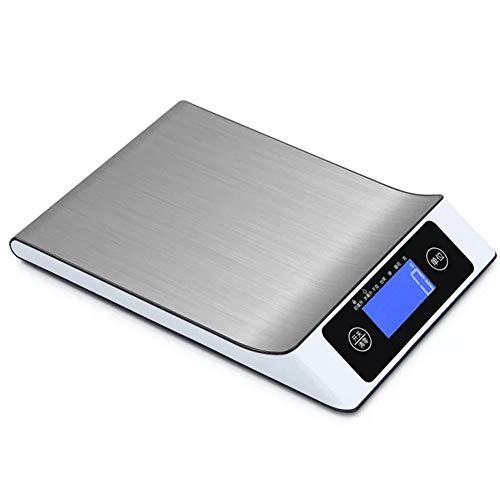 Digitale Küchenwaage, Küchenwaage Kitchen Scale Professionelle Electronische Küchenwage Mit Großem LCD-Display Wunderbare Präzision Maximalgewicht