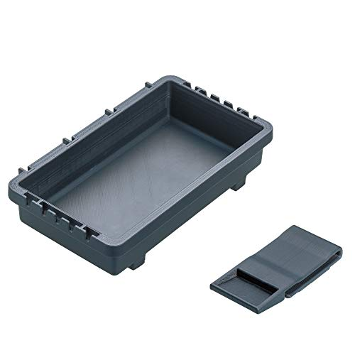 MEIHO Tray BM-S Black Shell for e.g. 7070 7080 and other Meiho System Suitcase Boxes Spoonbox Bait Holder Lureholder