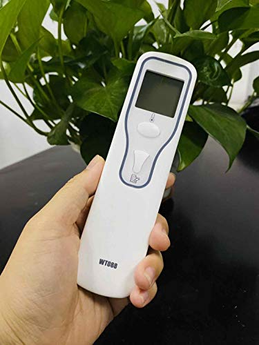 Thermometer GPO Infrared Non-Contact Forehead Digital LCD Handheld Thermometer, Accurate and Fast Measurement Temperature for Baby, Kids, Adults and Surface of Objects
