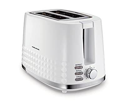 Morphy Richards Dimensions 2 Slice Toaster 220023 Two Slice Toaster White toaster