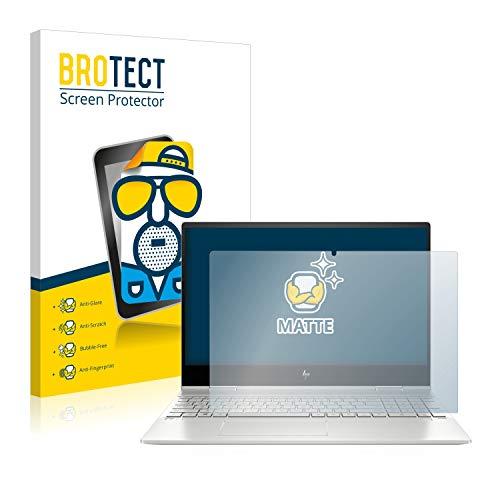 BROTECT Entspiegelungs-Schutzfolie kompatibel mit HP Envy x360 15-dr1701ng Bildschirmschutz-Folie Matt, Anti-Reflex, Anti-Fingerprint