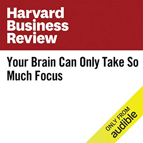Your Brain Can Only Take So Much Focus copertina