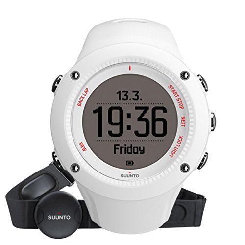 Suunto Ambit3 Run HR Sports Watch - White