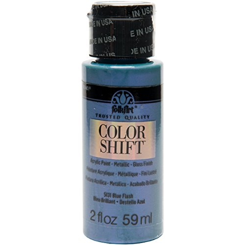 FolkArt Color Shift Acrylic Paint in Assorted Colors (2 ounce), Blue Flash