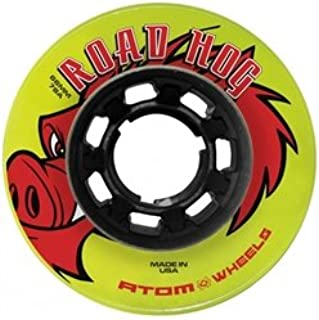 Skate Out Loud Atom Road Hog Outdoor Roller Skate Wheels 78A