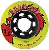 Skate Out Loud Atom Road Hog Outdoor Roller Skate Wheels 78A
