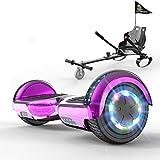 FUNDOT Hoverboards con Asiento,Hoverboards con Silla,hoverkart para Hoverboards 6.5...