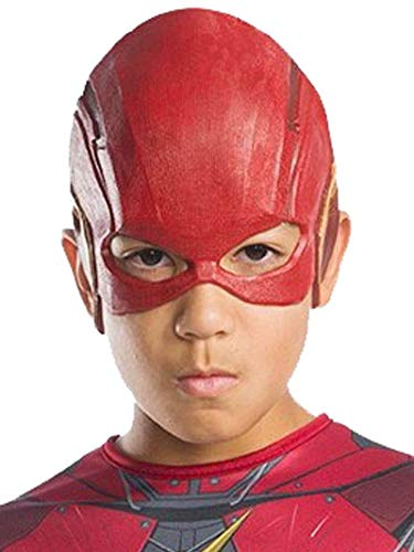 DC Justice League - Máscara de Flash para niños, accesorio