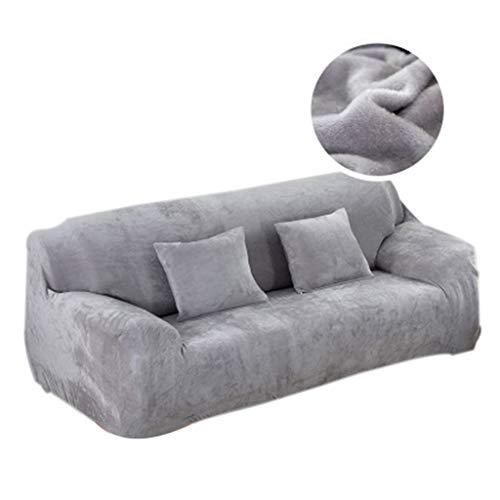 BCXGS Sofabezug, Stretch Sofaüberwürfe 1 Stück 1/2/3/4 Sitzer, Sesselbezug Elastischer Sofa Überzug Fabric Sofa Cover,A,4Seater(230x300cm)