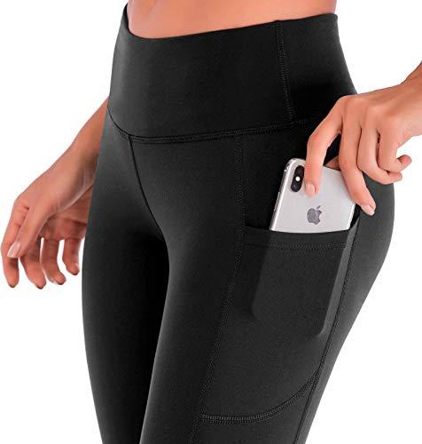 IUGA High Waisted Yoga Pants for Women with Pockets Capri Leggings for Women Workout Leggings for Women Yoga Capris