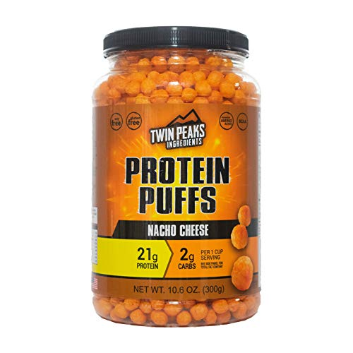 Twin Peaks Protein Puffs Margherita Pizza, 300 g