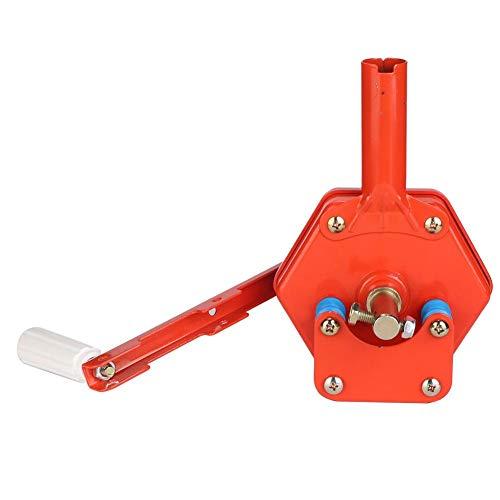 Cafopgrill Handmatige spoel, voor broeikas, spoelmachine, folie-opwikkeling aan de bovenkant van de broeikas, met zijrol, voor de landbouw