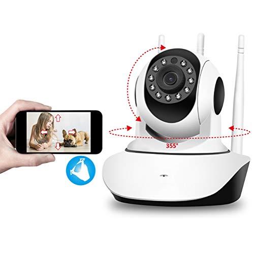 HD2DOG Home Wifi 1080P FHD Hond Camera, Draadloze Baby Monitor IP Camera met Bewegingsdetectie, 2-weg Audio, Nachtzicht XTM352