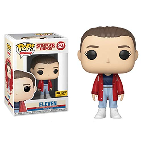 Funko Pop Television : Stranger Things – Eleven#827 (Exclusive) 3.75inch Vinyl Gift for Horror Television Fans for Boy