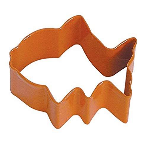 R & M Emporte-pièce en polyrésine Orange 7,6 cm