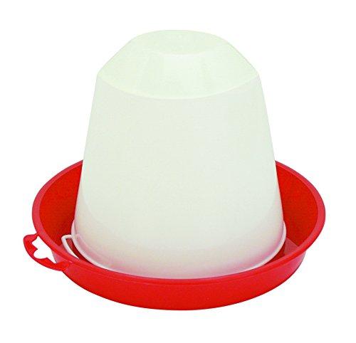 Kerbl Bebedero de plástico para Pollos y gallinas, 1,5 L 70202