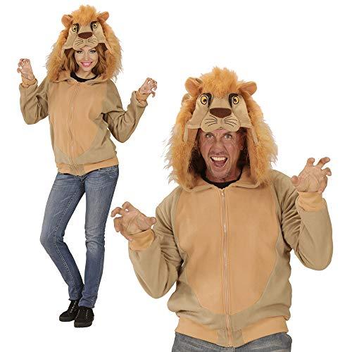 Widmann - Kapuzenjacke Löwe für Erwachsene
