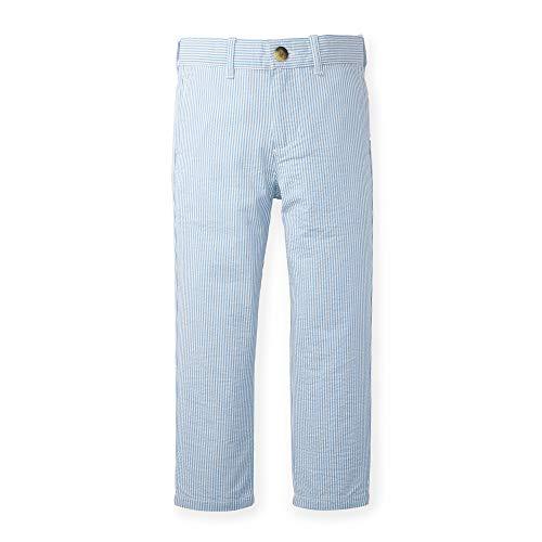 Hope & Henry Boys Blue Seersucker Suit Pant