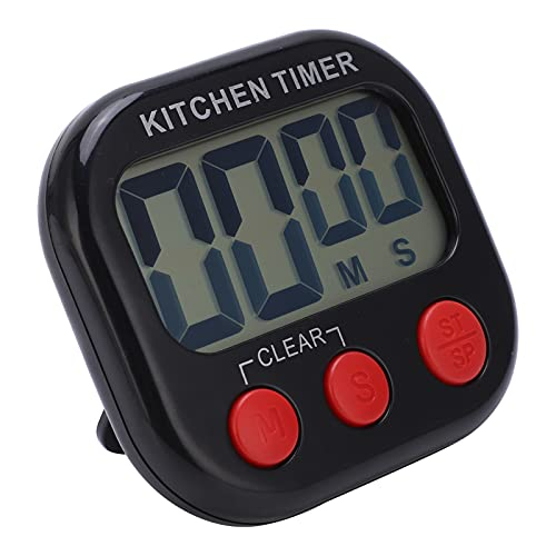 KASD Temporizador para El Aula, Reloj De Cronómetro Digital De Pantalla Grande ABS Portátil con Imán En La Parte Posterior para El Aula