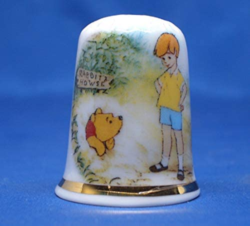 Birchcroft Porcelain China Collectible Thimble - Christopher Rob