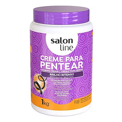 Salon Line Creme De Pentear Brilho Intenso 1Kg