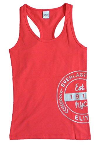 Everlast Tank Top (Top) 22W626J60C Frau Jersey Stretch Erdbeere / Rosa (Pink),XL
