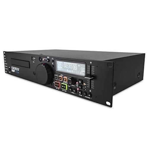 Reloop RMP-1700 RX - CD- & USB-Media Player, großes LC-Display, Aufnahme & Wiedergabe von MP3-/WAV-Dateien, Zwei USB 2.0 Ports, schwarz