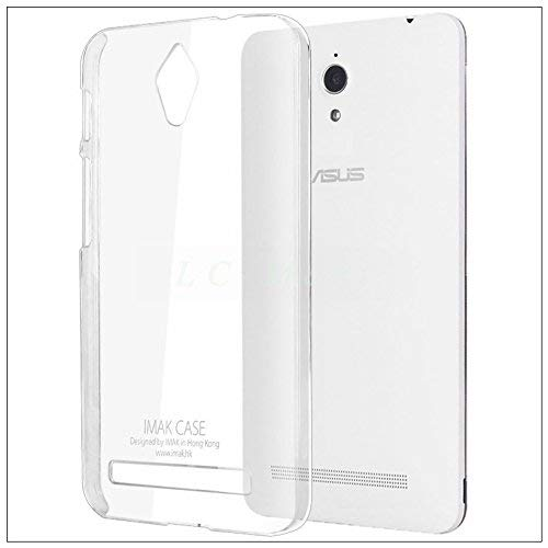 Brain Freezer Imak Crystal Clear Hot Transparent Thin Hard Bumper Back Case Cover Compatible with Asus Zenfone C Clear