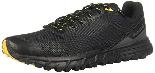 Reebok Herren Sawcut 7.0 GTX Trekking- & Wanderhalbschuhe, Mehrfarbig (Black/Grey Yellow 000), 42 EU
