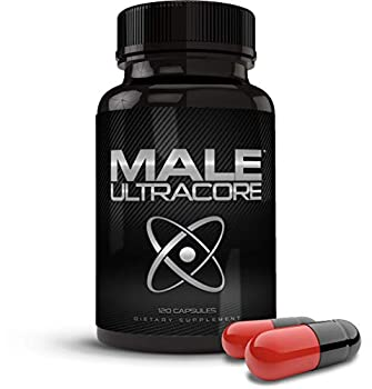 Male UltraCore Supplements  1 Month Supply  – High Potency - 120 caps per Bottle