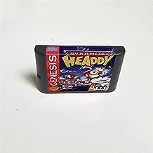 Lksya Dynamite Headdy - Carte de jeu MD 16 bits pour cartouche de console de jeu vidéo Sega Megadrive Genesis (coque japon...