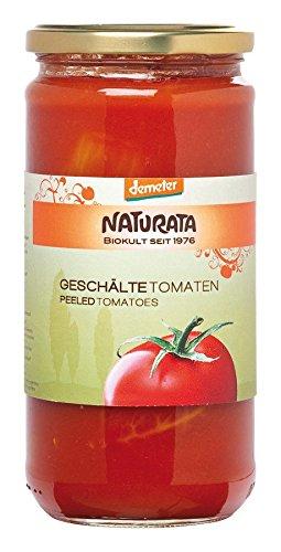 Naturata Bio Geschälte Tomaten in Tomatensaft (12 x 660 gr)