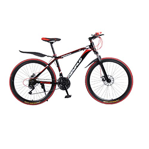 SHUANGA Outroad Mountainbike Aluminiumlegierung 26 Zoll 21-Gang-Fahrrad Erwachsener StudentFahrrad Aluminiumlegierung Explorer 30 Messer Speichenrad