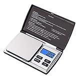 Báscula electrónica de bolsillo de alta precisión de 0,01 g, portátil con...