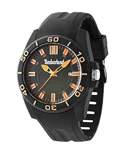 Timberland 14442JPB/19P - Reloj , correa de goma color negro