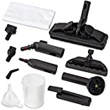 Ivation Replacement Parts for IVASTEAMR20 Canister Steam Cleaner - Parts Include Rotary Brush, Nozzle, Small...