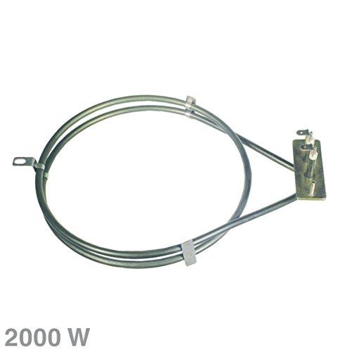 Heizelement Heißluft 2000W 230V Herd für Backofen Amica 8026766 8001785 ALTERNATIVE Breite: 192 mm