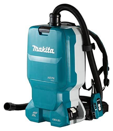 Makita DVC665ZU Rucksackstaubsauger 2x18 V mit Bluetooth (ohne Akku, ohne Ladegerät), 36 V
