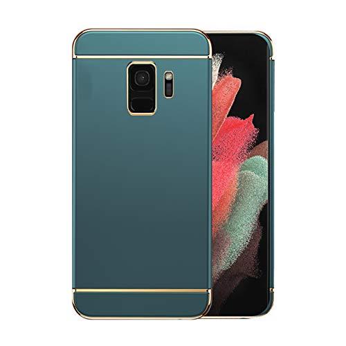 Funda Samsung Galaxy S9/S9 Plus 5g Case,Fundas Samsung S9/S9 Plus Antigolpes Carcasa Diseño Minimalista Estuche Rígido Ultra Original Delgado de PC a Prueba (Samsung Galaxy S9, Verde)
