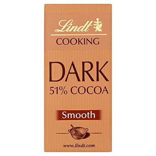 Lindt 51% Dunkle Kuvertüre Bar 180G