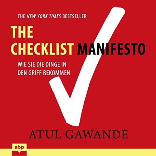 Checklist Manifesto cover art