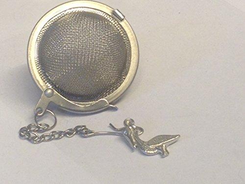 Vogel Pelikaan 2.2cm X 1.8cm TG305 Thee Bal Mesh Infuser RVS Sphere Strainer Geplaatst door de VS Geschenken voor Alle 2016 van Derbyshire Verenigd Koninkrijk.